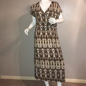 j. jill Multi Color Dress EUC
